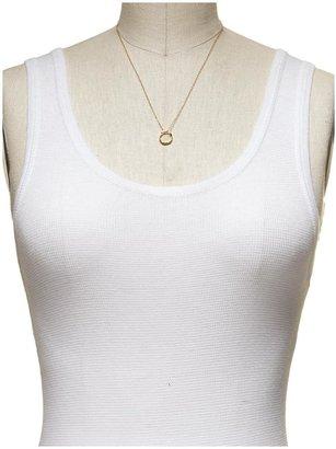 Gorjana G Pressed Small Necklace