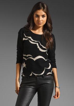Sonia Rykiel SONIA by Feutree Intarsia Sweater