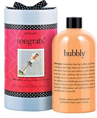 philosophy 'congrats! Bubbly' Shampoo, Shower Gel & Bubble Bath