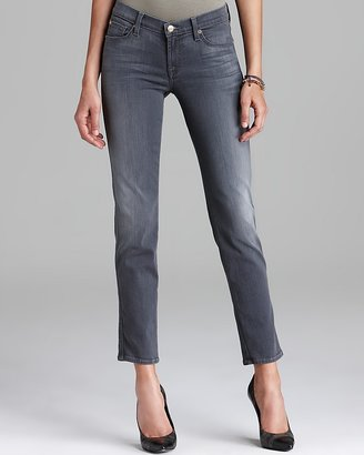 7 For All Mankind Jeans - The Slim Cigarette in Grey Sateen