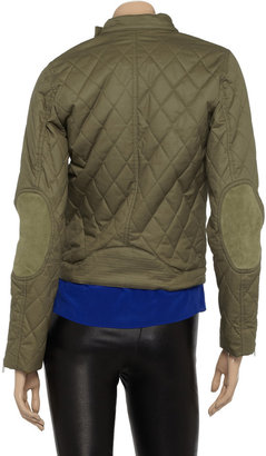 McQ by Alexander McQueen Quilted coated-cotton jacket