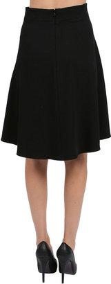 Corey Lynn Calter Remi High Low Skirt in Black