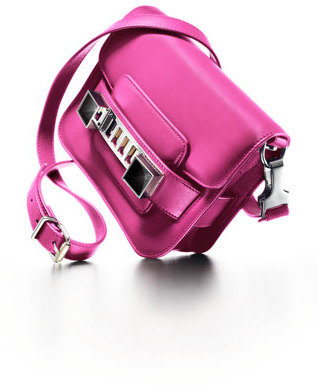 Proenza Schouler PS11 Tiny Crossbody Bag, Fuchsia