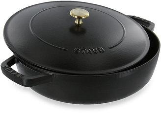 Staub 4-Quart Covered Saute Pans/Braisers