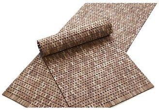 Crate & Barrel Lattice Double Wooden Mat