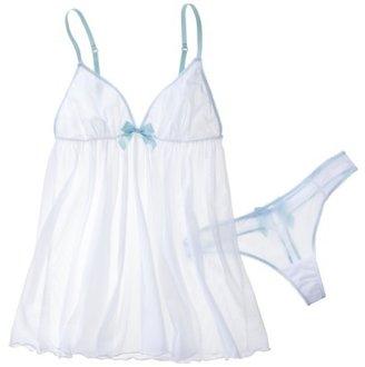 Babydoll Gilligan & O'Malley® Women's Bridal True White