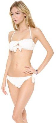 Juicy Couture Bow Chic Bandeau Bikini Top