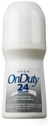 Avon On Duty Unscented Bonus-Size Roll-On Anti-Perspirant Deodorant