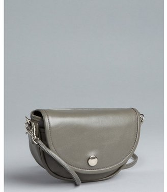 Rebecca Minkoff grey leather 'Smile' mini crossbody bag