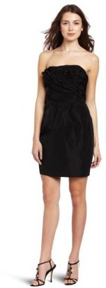 Plenty by Tracy Reese Women's Ruched Strapless Dress