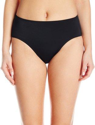 Fit 4 U Women's R Tummy Solids Brief Bikini Bottom
