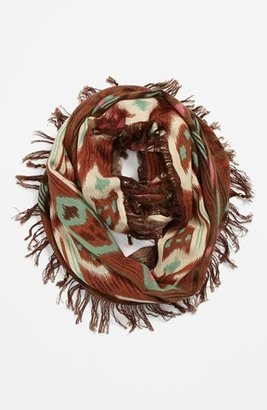 BP Ikat Infinity Scarf Womens Multi One Size One Size