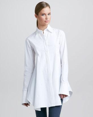 Donna Karan Easy Shirt, White