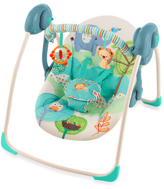 Bed Bath & Beyond Bright Starts™ Playful Pals™ Portable Swing