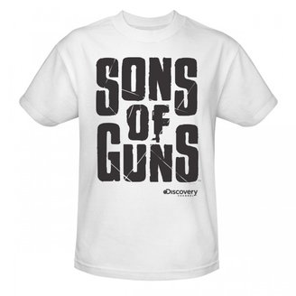 Discovery Sons of Guns Large Logo T-Shirt - White
