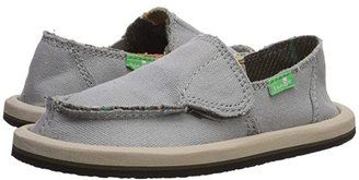Sanuk Vagabond (Toddler/Little Kid) (Grey Blanket) Boys Shoes