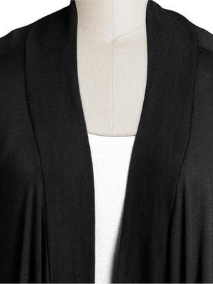 Splendid Basic Very Light Jersey Drapey Cardigan