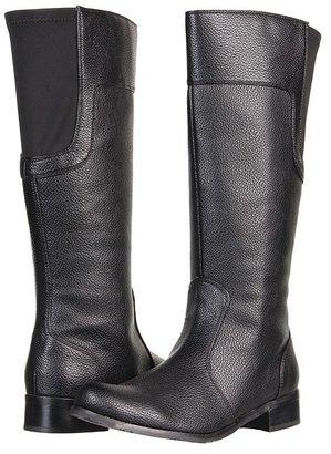 Romantic Soles Lyris Boot (Black Pebble) - Footwear