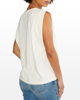 ÉTICA Anais Strong-Shoulder Top