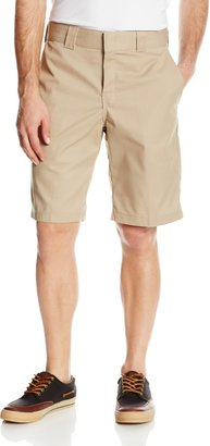 Dickies Men's 11 Inch Relaxed Fit Stretch Twill Work Short