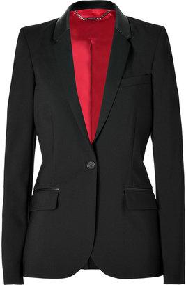 Barbara Bui Wool Blazer in Black