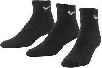 Men's Nike 3-pk. Performance 1/4-Crew Socks $14 thestylecure.com