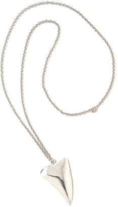 Tom Binns Last Laugh Large Shark Necklace