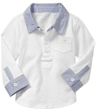 Gap Woven striped shirt