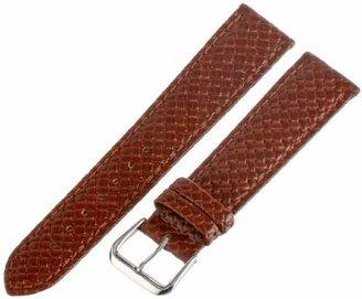 Hadley Roma Hadley-Roma Men's MSM843RR-200 20-mm Genuine Leather Watch Strap