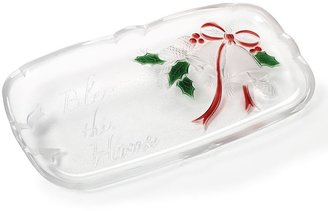 Mikasa Holiday Bells 14.25-in. Canape Tray