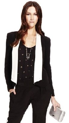 Rebecca Minkoff Becky Jacket in Black and White