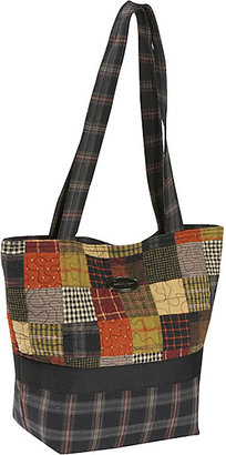 Donna Sharp Large Patched Tote, Woodland