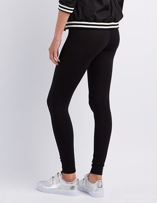 Charlotte Russe Stretch Cotton Leggings
