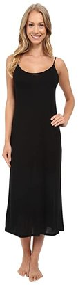 Natori Shangri-La Gown (Black) Women's Pajama