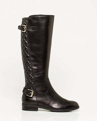 Le Château Italian Design Leather Knee-High Boot