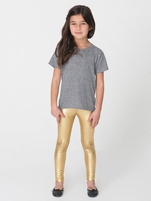 American Apparel Kids' Shiny Leggings