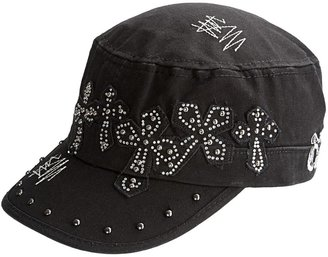 Rock & Roll Cowgirl Military Style Cap (For Women)