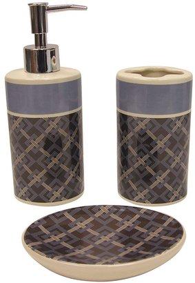 Waverly square root 3-pc. bath accessory set