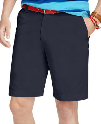 Izod Saltwater Flat-Front Shorts