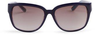 C. Wonder Oversize Rounded Square Sunglasses