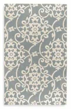 Style Statements Edison 5-Foot x 8-Foot Rectangle Rug in Serenity Blue