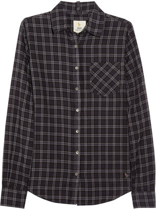 MiH Jeans Classic checked cotton shirt