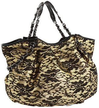 Betsey Johnson Royal Lace Tote (Gold) - Bags and Luggage