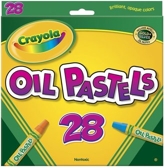Crayola Colored Oil Pastel Sticks - 28 Pastels
