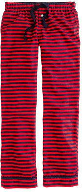 J.Crew Flannel sleep pant in stripe