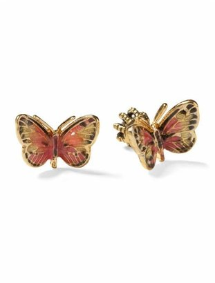 Juicy Couture Enamel Butterfly Studs