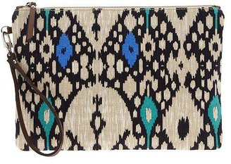 Banana Republic Willow Ikat Clutch
