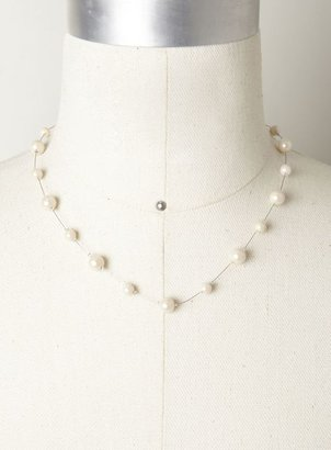Isabella Collection Giselle Pearl Strand Wire Necklace