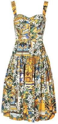 Dolce & Gabbana Floral printed sun dress
