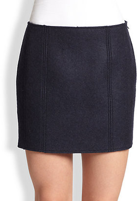 Maison Martin Margiela Wool Mini Skirt